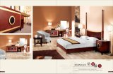 5 Star Classical Hotel Wooden Bedroom Furniture Set with Sofa and Bed (LX-TFA013)