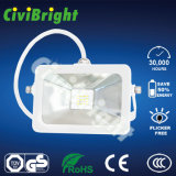 High Power 20W Black/White IP65 LED Floodlight