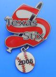 Baseball Badge, Baseball Pin (AS-LS-0323005)