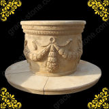 Antique Stone Well for Decoration