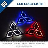 Automobile Car 5D LED Logo Badge Light for Mitsubishi