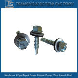 Slotted Hex Head Self Drilling Screw with EPDM Washer