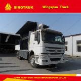 HOWO 290HP 10 Wheeler Wing Van Truck Exporters Manufacturer Sale