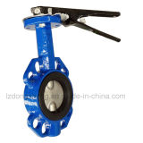 Wafer Type Rubber Lined Butterfly Valve