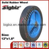 Various Metal Type Dimensions of Rubber Wheel.