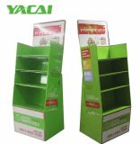 Supermarket Display Stand with Shelves for Healty Kitchenware, China Pop/POS Cardboard Display Factory