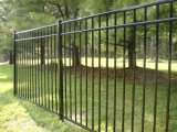 Wholesale of Quality Gloss Black Powder Coated Backyard Tubular Garden Fence