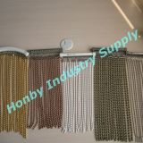 8mm Size Steel Ball Chain Beaded Curtain as Home Decoration