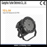 72pcsx3w RGBW Stage LED Waterproof PAR Light