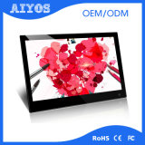 FHD 1080P Video Display 18.5 Inch TFT LCD Touch Screen Advertising Player