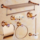 Flg 6 Units Brass /Zinc Alloy Dimond Bathroom Accessories