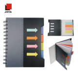 Wholesale Kraft Line Paper Notebook with Color Paper Spiral Notebook