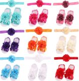 Baby′s&Girl′s Headbands/ Hair Bows and Barefoot Flower Feet Accessories