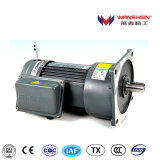 50Hz/60Hz 0.4kw AC Small Gear Motor with Manually Brake Release