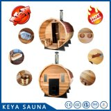 Keya Cedar Traditional Sauna Barrel Sauna for Hot Sale