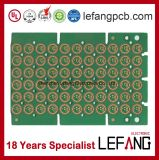 0.2mm Double-Sided Immersion Gold Control Circuit PCB Board