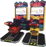 42 Inch Max Tt Motor Coin Operated Car Racing Game Machine Max Tt Competition with High Speed
