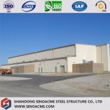 Prefabricated Steel Frame Aircraft Hanger with Steel Sheet