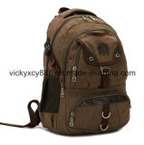 Outdoor Sports Travel Climbing Casual Laptop Canvas Bag Pack (CY5823)