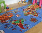Eco-Friendly High Quality Kids Mat and Baby Carpet