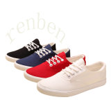 New Arriving Vulcanized Women′s Canvas Shoes