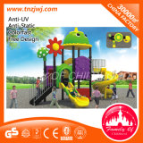 Amusement Park Kid Outdoor Plastic Playground Equipment for Sale