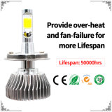 Sunflower Auto Fanless LED Bulb 3800lm H4 From The Factory with LED Bar Light and Car LED Headlight