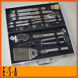 2015 New Aluminum BBQ Tool Set with 18 PCS, Wholesale Tool Set with BBQ Accessories, Barbecue Tools Set/BBQ Grills/BBQ Kit T39A001