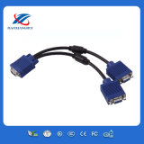 VGA Monitor Cable Y Splitter 1 Feet