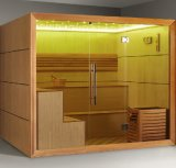 Monalisa Lose Weight New Design LED Dry Prefabricated Sauna Room (M-6052)