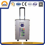 High Quality Aluminum Emergency Trolley Kit (HM-1003)