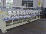 8 Heads 9 Needle Plain Flat Embroidery Machine