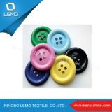 Fashion colorful Eyelet Resin Buttons for T-Shirts