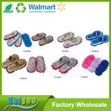 Wholesale Custom Multicolor Man or Woman Floor Slipper Chenille Slipper