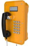 Industrial Vandalproof Telephones Waterproof Phones with LCD and Metal Keypad