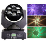 Emption 6X15W Bee-Eyes Stage Beam Light LED Moving Head Lighting