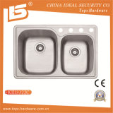 Ktd3322c 304 Topmount Stainless Steel Sink with Cupc