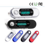 Portable USB Digital LCD Screen MP3 Player with FM Radio