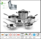 All-Clad Triply Stainless Steel Cookware Set