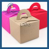 Recycled Paper Square Boxes Wedding Favor Box
