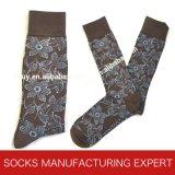 Men′s Smart Wool Socks with Toe Hand Link