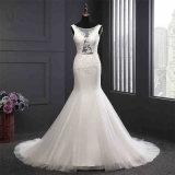 Custom Made Mermaid Bridal Evening Dress Wedding Gown