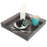 2018 Spill-Proof Acrylic Party Serving Tray with Handles