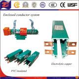 Mobile Service Multipole Copper Conductor Busbar Power Rail
