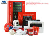 African Fire Security Detection Alarm 4 Zones Conventional Panel