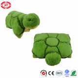 Green Turtle Quality Fancy Kids 2in1 Sleeping Plush Cushion