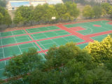 High Quality Spu Sports Flooring Used to Badminton Court