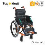 Topmedi Aluninum Pediatric Wheelchair with Desk for Cerebral Palsy Children