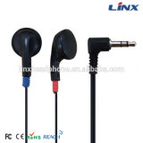 Durable Cheap Price Disposable Wired Airlines Aviation Earphones
