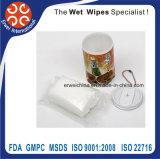 Non Alcohol Antibacterial Wet Wipes in Mini Bucket